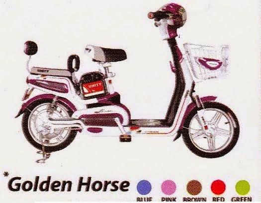 Jual Sepeda Listrik Golden Horse Di Jakarta Utara