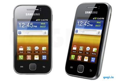 Spesifikasi dan Harga Samsung Galaxy Y S5360