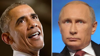 US President Barack Obama and Russian President Vladimir Putin are both expected to attend the G20 Leaders Summit next week. Picture: AFP Source: AFP