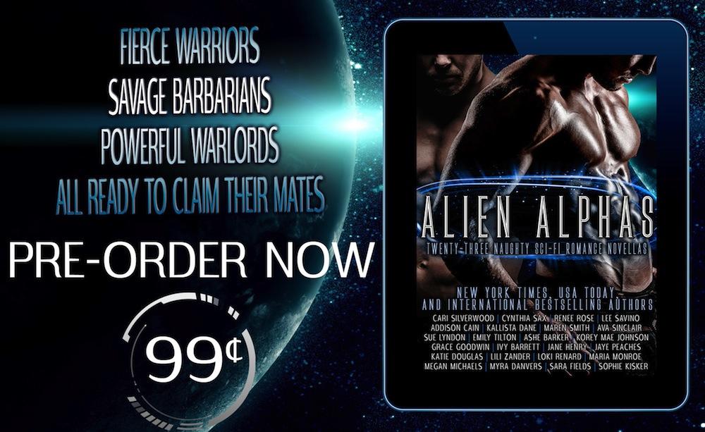 Alien Alphas Book Blitz