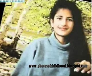Bollywood Actress Katrina Kaif Unseen Childhood Pictures ...