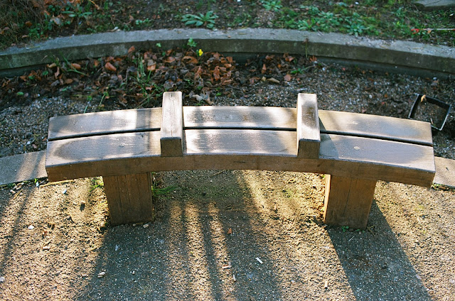 London bench Waterloo Millennium Green