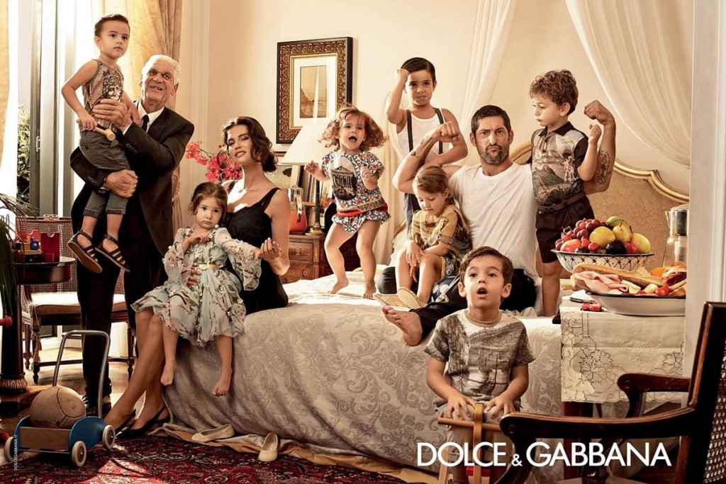 Dolce & Gabbana Spring/Summer 2014 campaign