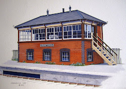 Broadway Signal Box Progress