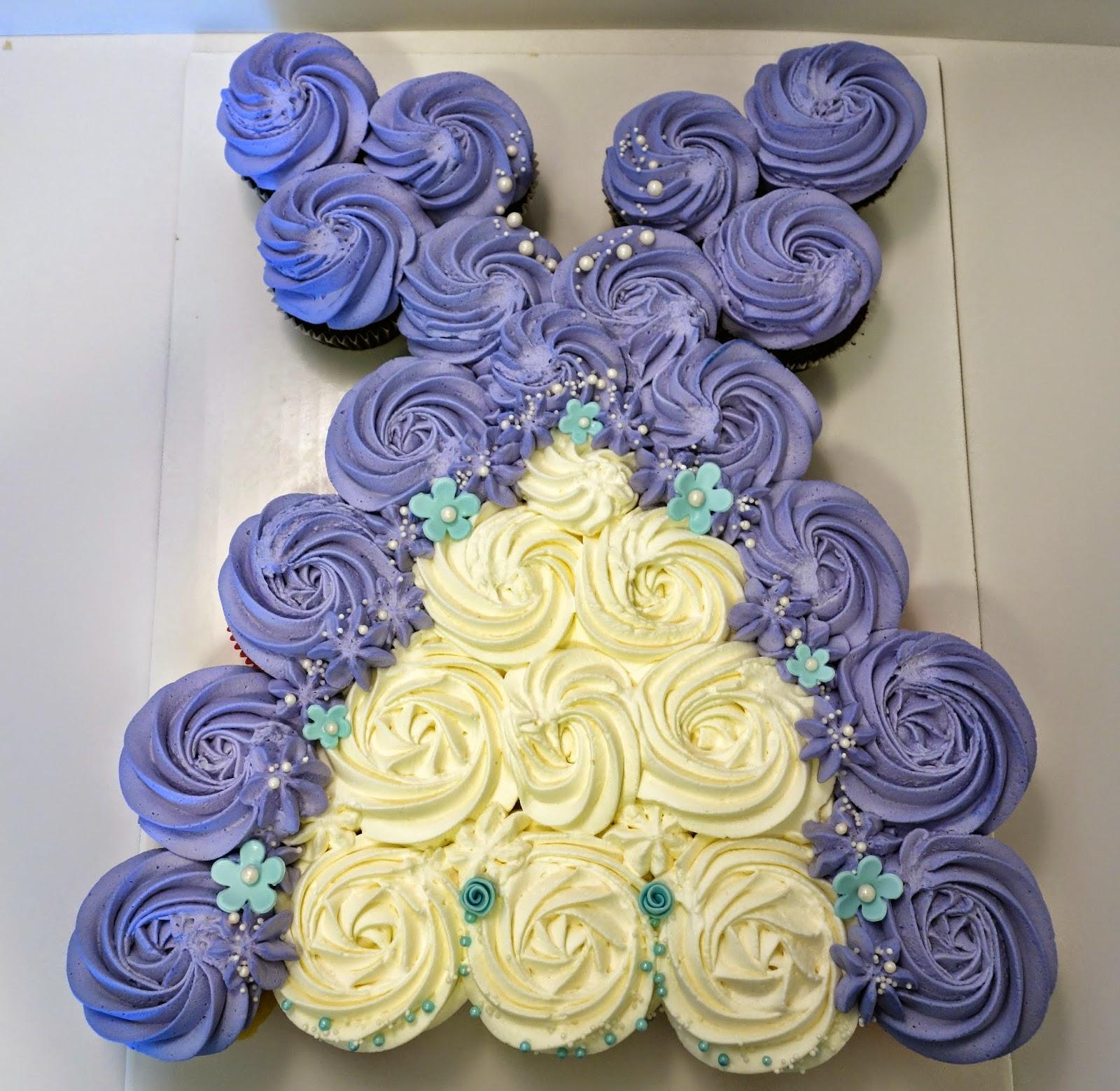 Princess dress cupcakes images