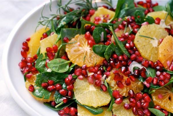 salada detox para dietas de redução de peso