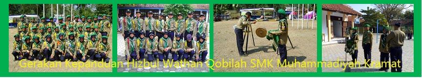 Hizbul Wathan Qobilah SMK Muhammadiyah Kramat Kabupaten Tegal