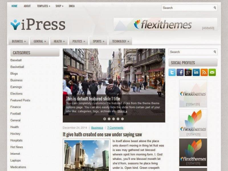 iPress - Free Wordpress Theme