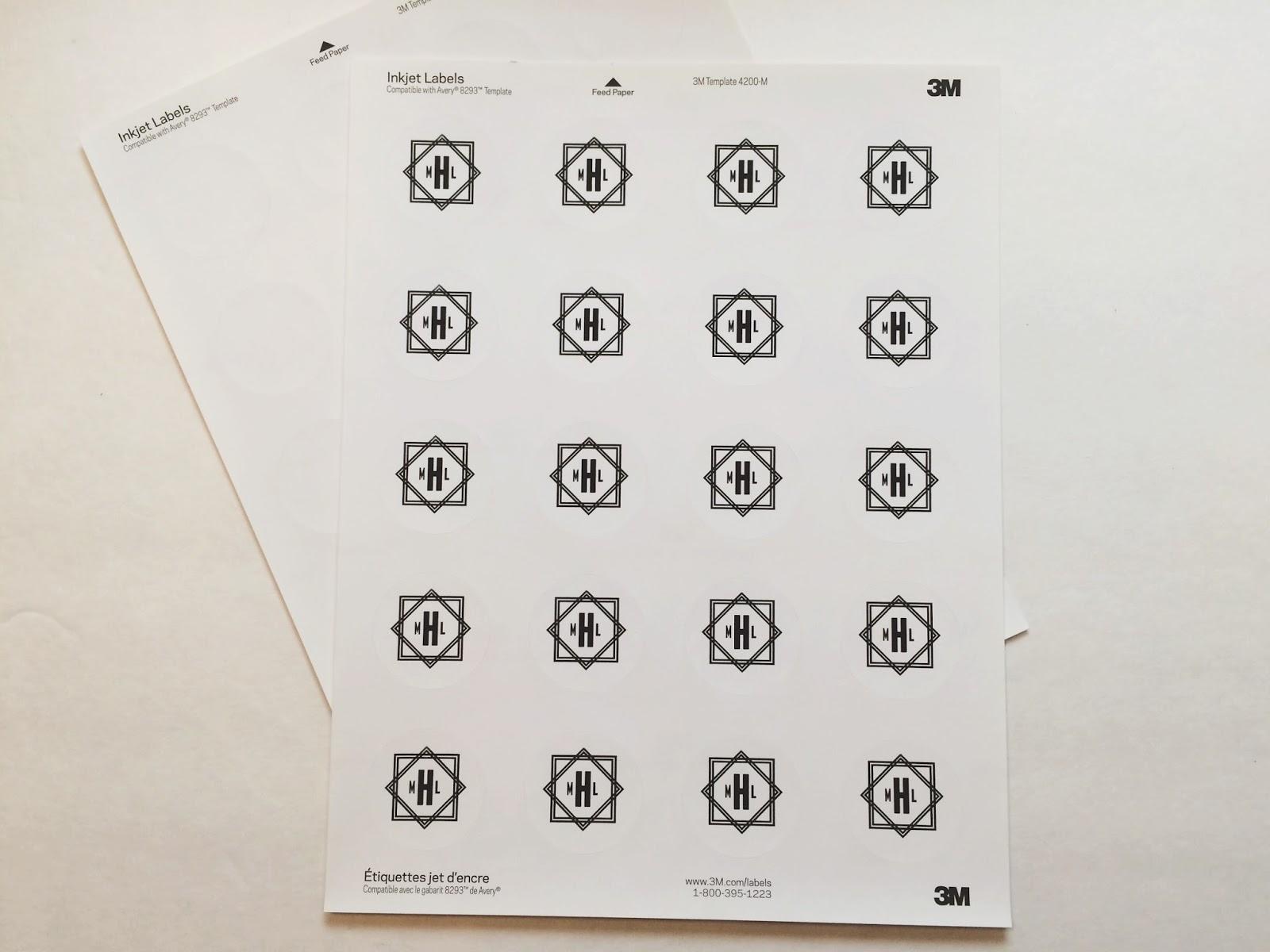 five sixteenths blog: Make it Monday // Create a Custom Monogram