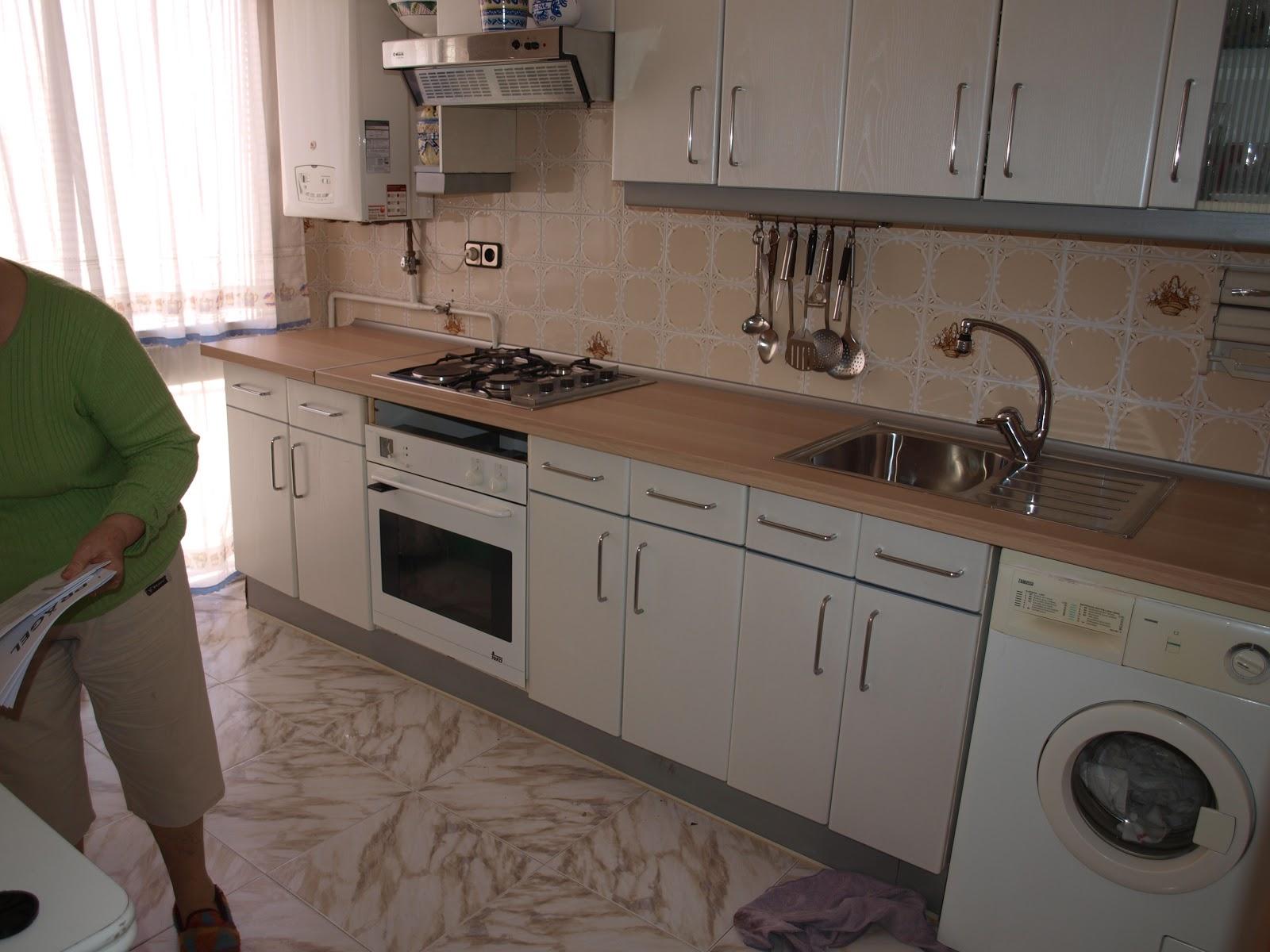 El resultado de mi imaginaci n encimera de la cocina 1 parte - Encimeras laminadas de cocina ...