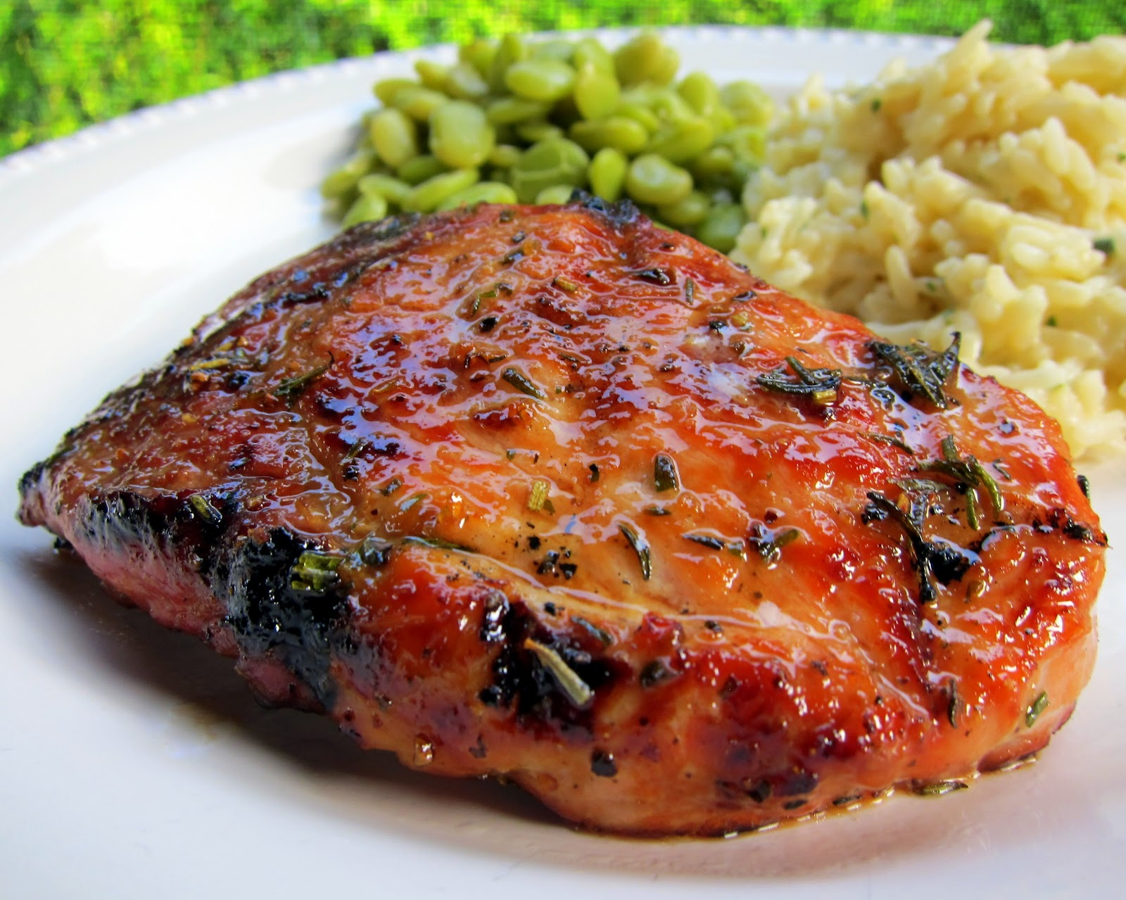 Honey Rosemary Pork Chops - Plain Chicken