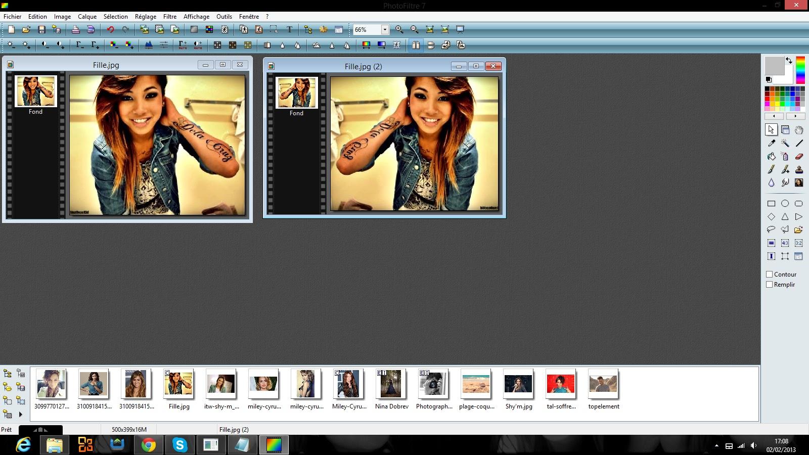 Montages photos effet miroir for Photo effet miroir