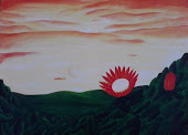 Pintura de Protea Cynaroides. 2011