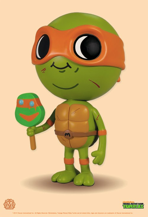 Lil Mikey Teenage Mutant Ninja Turtles Vinyl Figure by Mike Mitchell