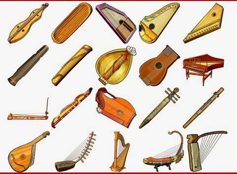 チター/ハープ属の弦楽器