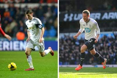 Davies, Sigurdsson, Vorm announced