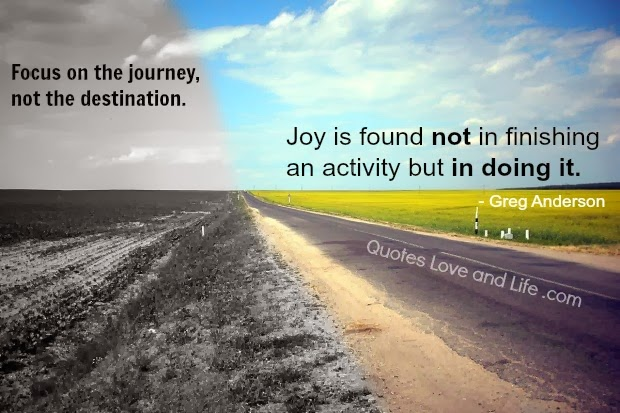 Charming Short Quotes About Life Journey