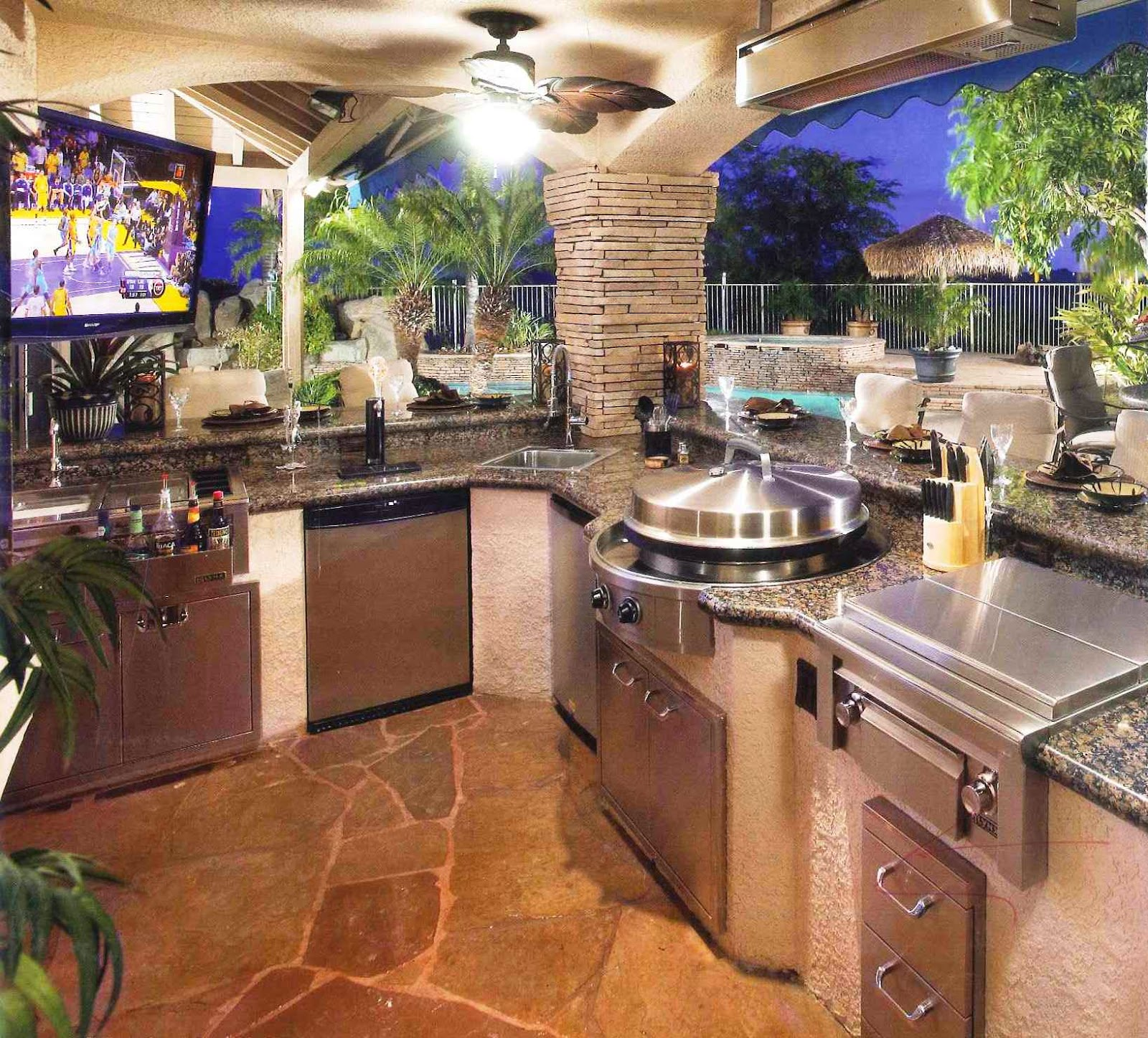Dream Outdoor Kitchen