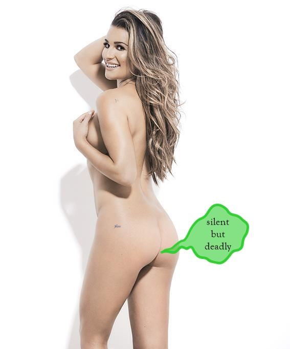 Lea Michele Naked Ass Farting Funk!