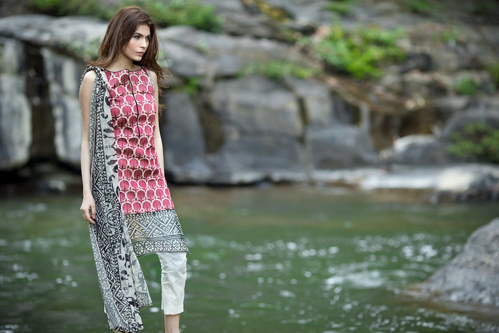 Sana Safinaz Lawn 2014 -