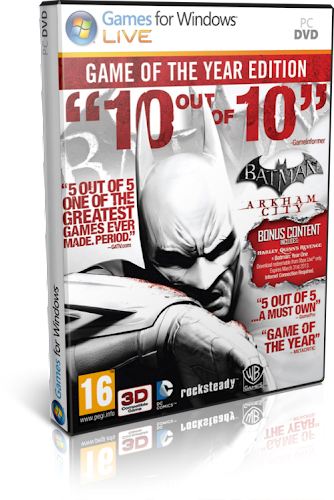 Batman - Arkham City Game of the Year Edition [2012] [PC] [Multi Español] [Iso]