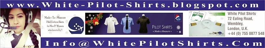 Tailor Made White Pilot Uniform Shirts