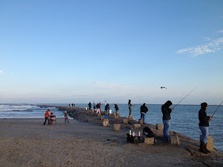 Postcards and road trips south padre island jetty for South padre island fishing trips