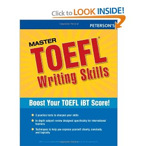 Master TOEFL Writing Skills by Peterson's