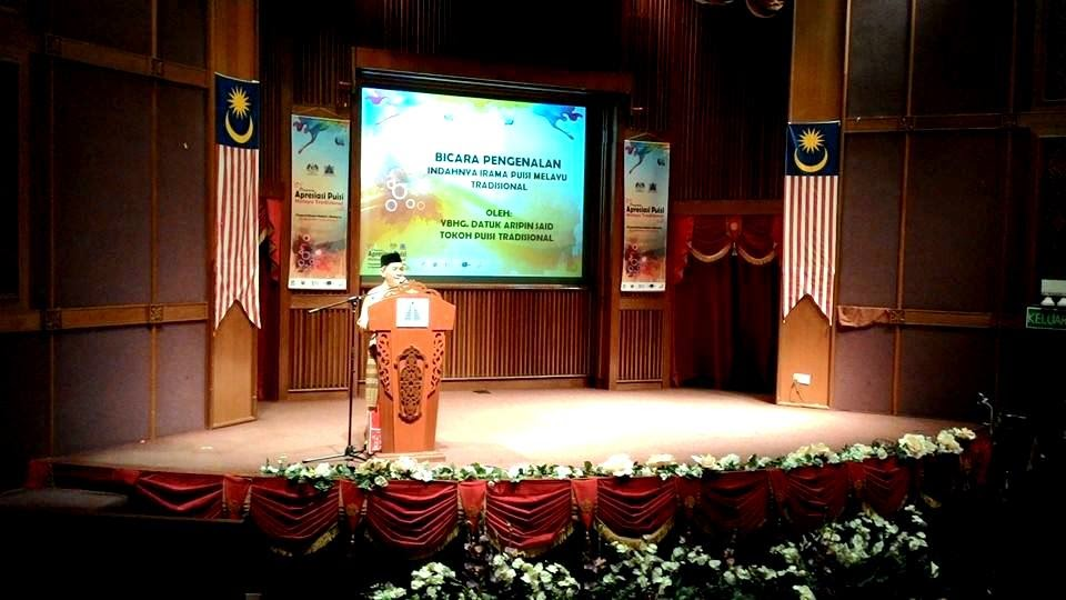YBhg Datuk Aripin Said, Tokoh Puisi Tradisional