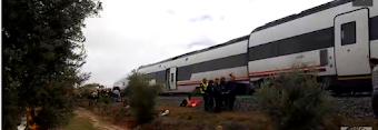 21 pasajeros heridos, tres de ellos graves, en un descarrilamiento en la línea Málaga-Sevilla