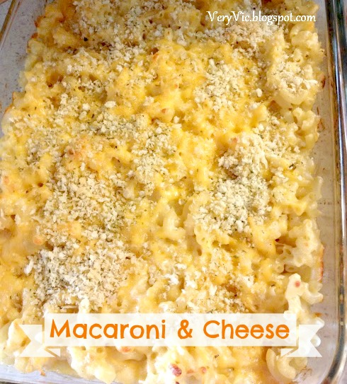 Very Vicky: Homemade Macaroni and Cheese