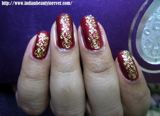 Gold Lace Nail Art Decal Stickers From Bornprettystore And Notds