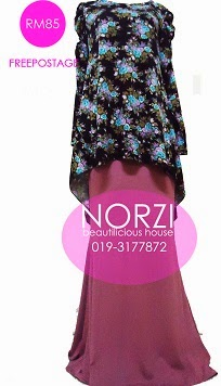 NBH0212 AZEERA FISHTAIL FULLSET (NURSING FRIENDLY)
