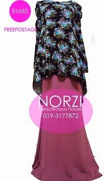 NBH0212 AZEERA FISHTAIL FULLSET (NURSING FRIENDLY)