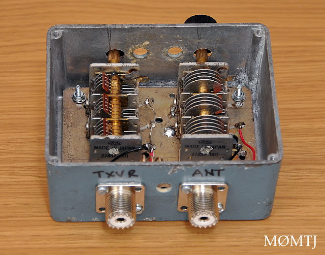 70 MHz Antenna Tuning Unit for the 4 Meter