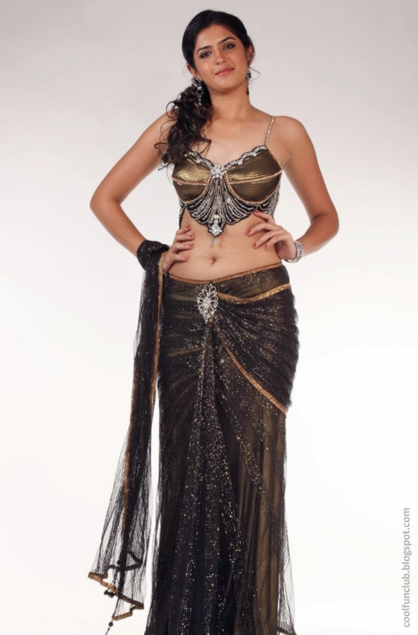 Indian Actress - Deeksha Seth in Saree Juli 2013