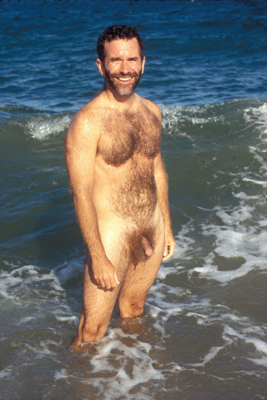 naked Hairy daddy