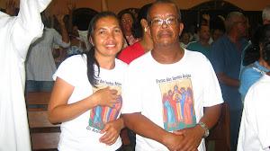 D. Maria José e Sr. Benigno