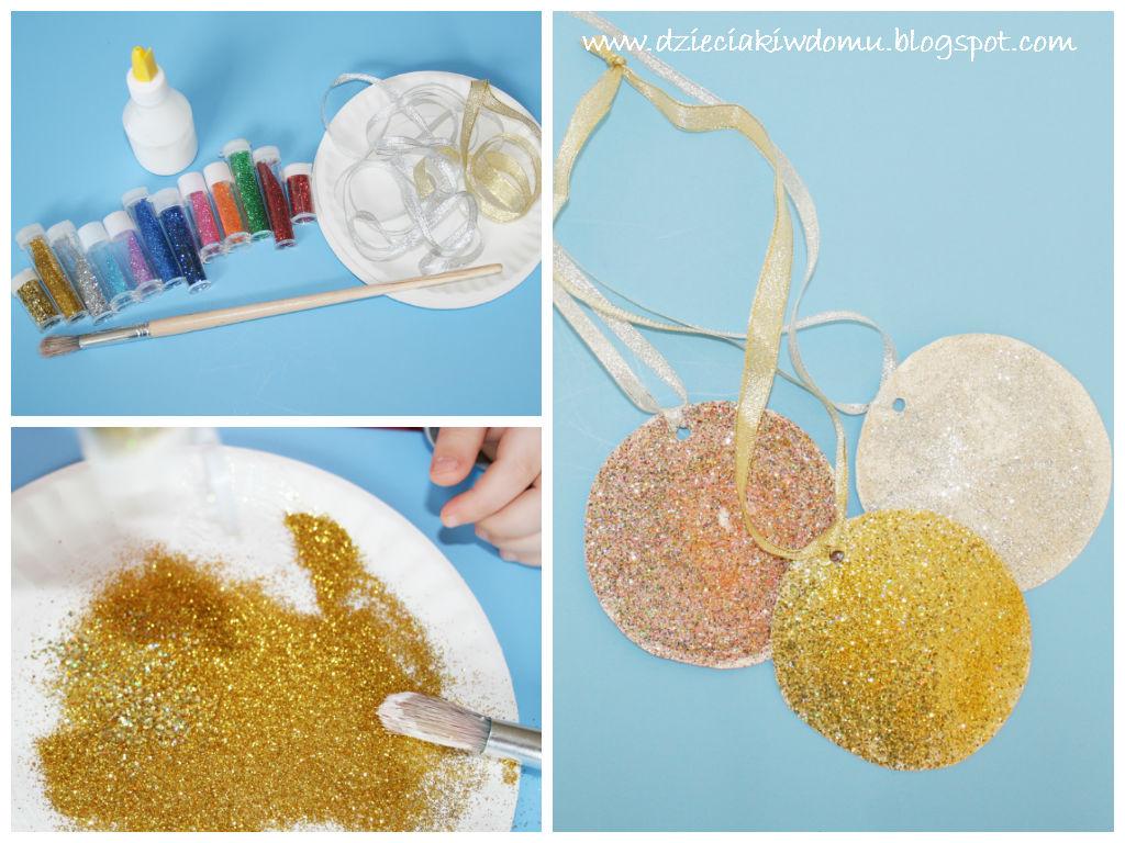 kreatywne medale z papierowych talerzyków - praca plastyczna dla dzieci
