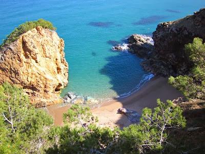 Illa Roja beach in Begur