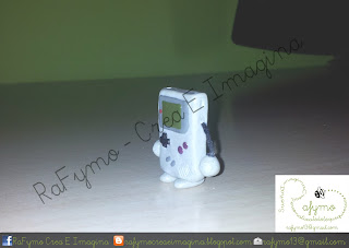 Game Boy hecha con Fimo