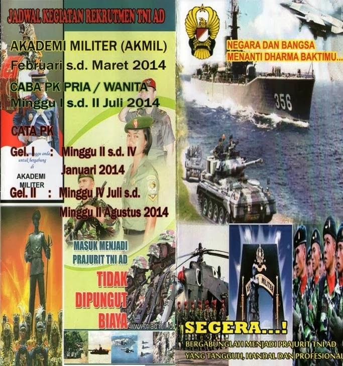 Persyaratan Penerimaan Taruna Akmil Ta 2014 Akademi Angkatan Darat Catatanku Di Penghujung
