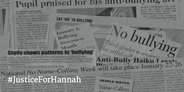 Justice For Hannah #JusticeForHannah photo credit Bpenn005 - Hello, handbag
