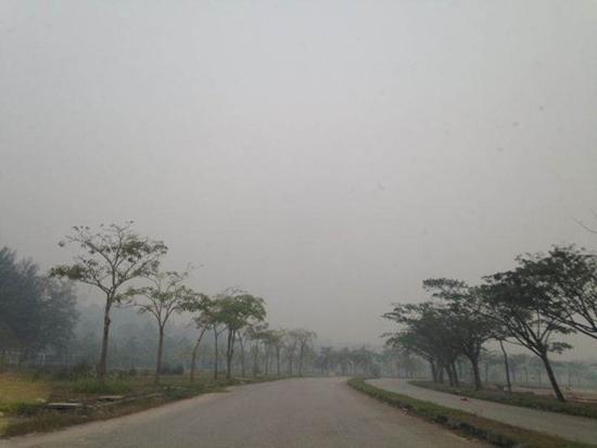 Foto Jerebu di Malaysia Jun 2013