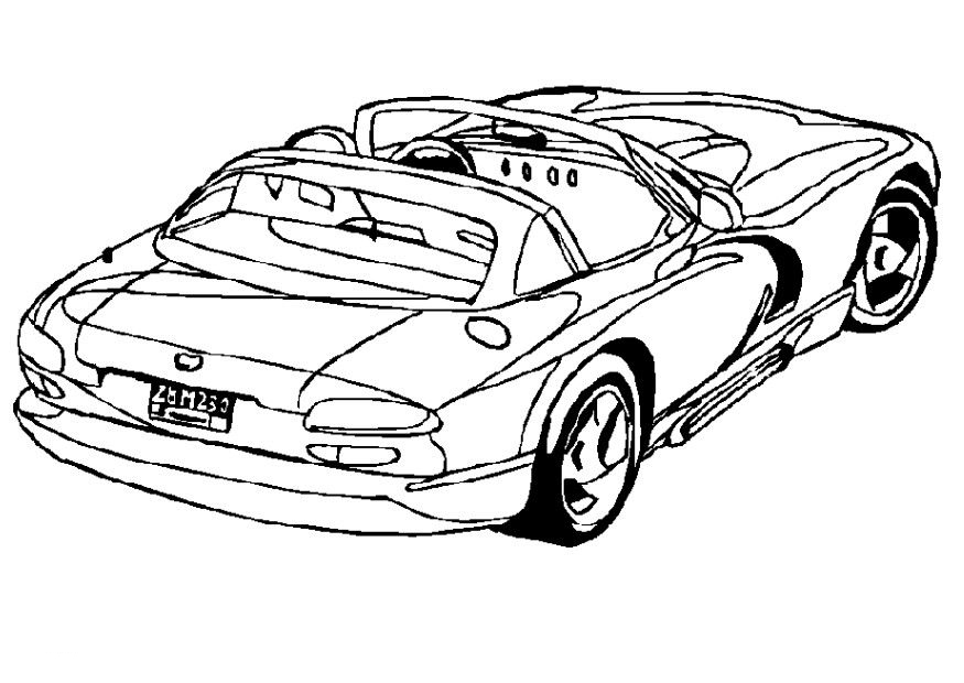 Dodge Coloring Pages