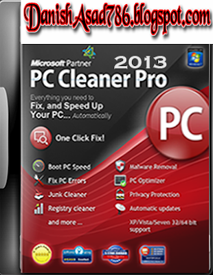PC Cleaner Pro 2013 Free Download with Serial Number Full Version