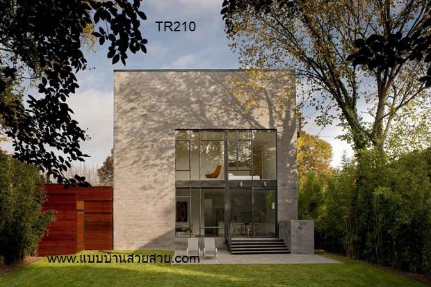 แบบบ้านสวย บ้าน 2 ชั้น TR210