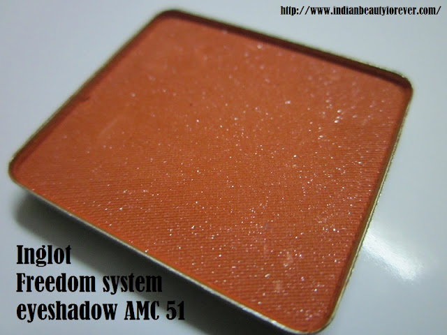 Inglot Eyeshadow Freedom system