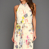 Louise Roe in Ted Baker Attavia Floral Halter Neck Maxi Dress