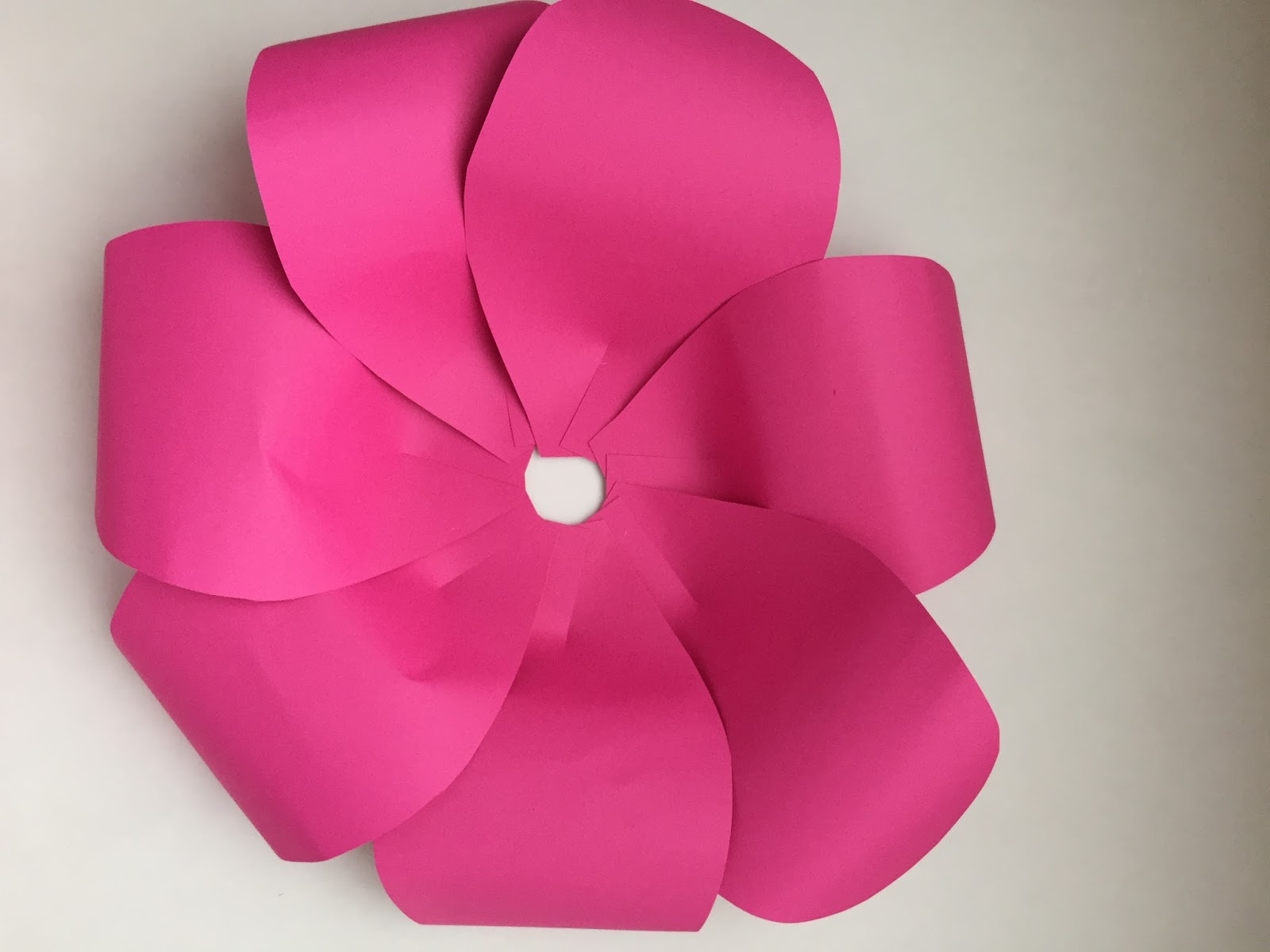 Nat your average girl diy giant paper flower backdrop after you attached all the large flowers you will do the same for the medium and small you will make 6 medium and 3 small mightylinksfo